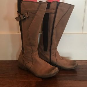 GUC Aldo Light Brown leather riding boots